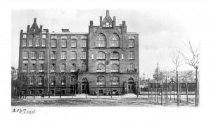 Schulgebäude 1902